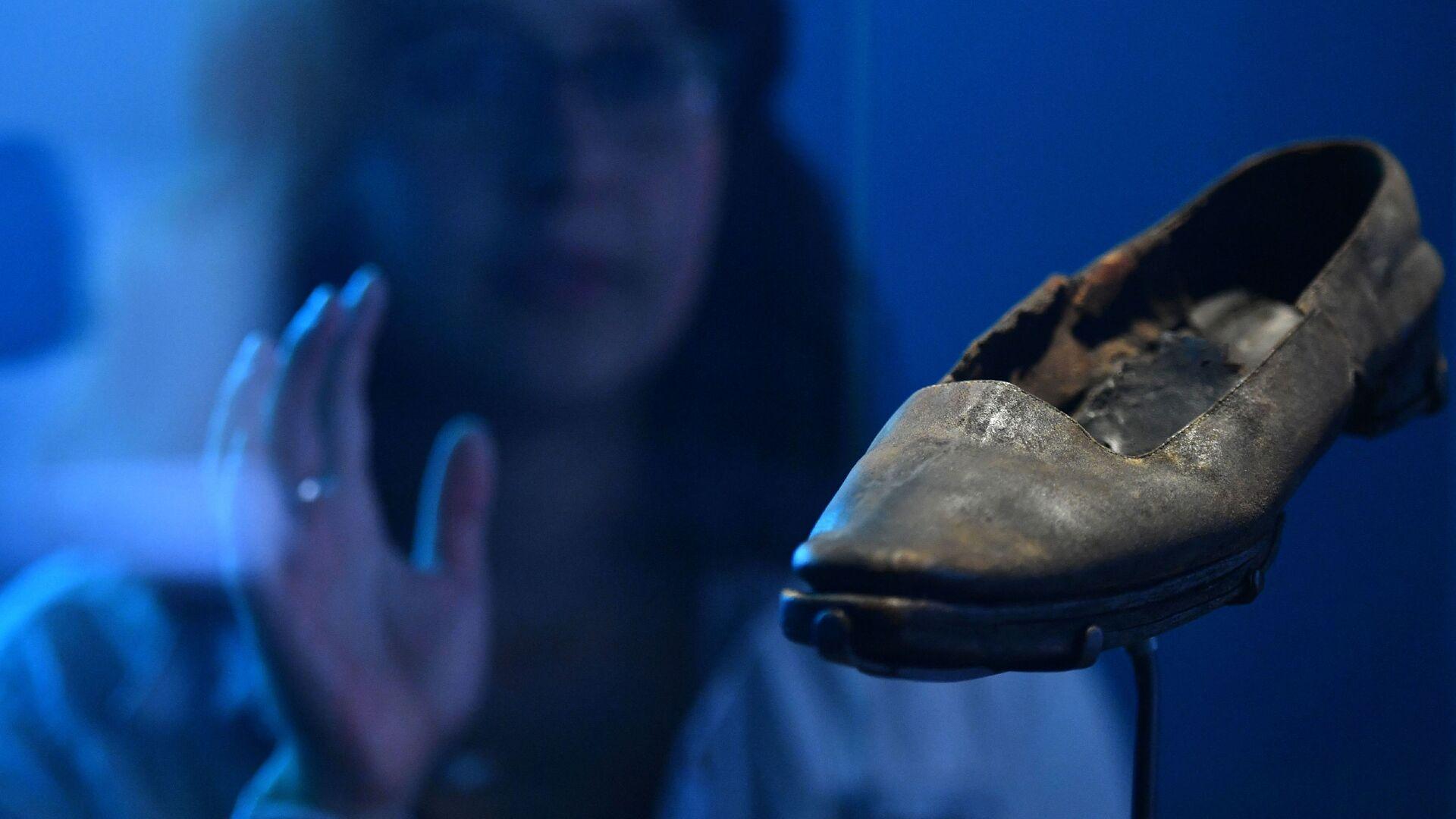 Kožená bota na výstavě v Národním mořském muzeu v britském Greenwichi - Sputnik Česká republika, 1920, 20.05.2021