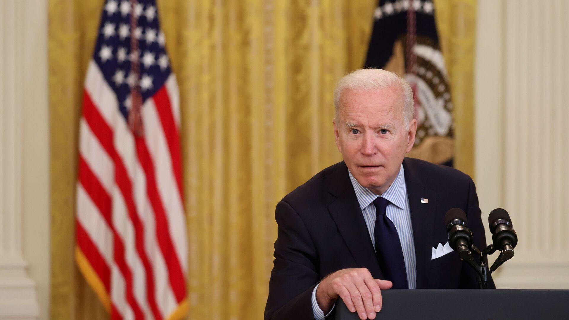 Americký prezident Joe Biden - Sputnik Česká republika, 1920, 13.06.2021