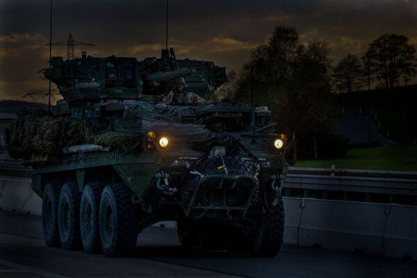 Americký konvoj v Česku - Sputnik Česká republika