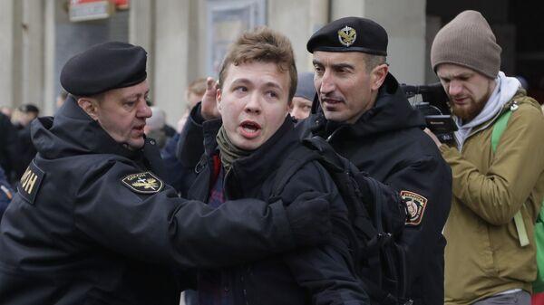 Журналист Роман Протасевич - Sputnik Česká republika