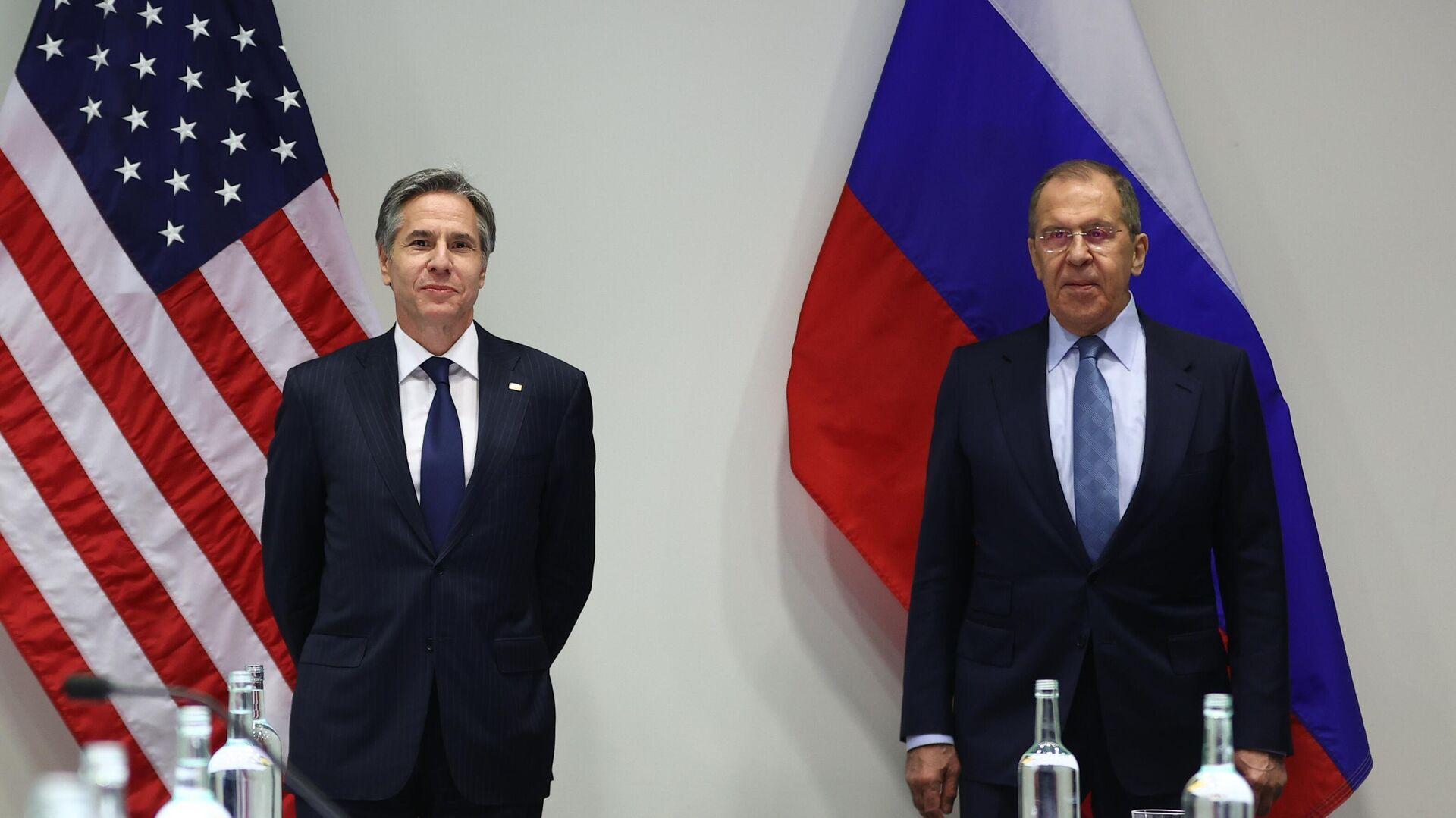 Schůzka ruského ministra zahraničí Sergeje Lavrova a amerického ministra zahraničí Antony Blinkena - Sputnik Česká republika, 1920, 24.05.2021