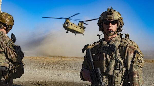 Американские военные на юго-востоке Афганистана  - Sputnik Česká republika