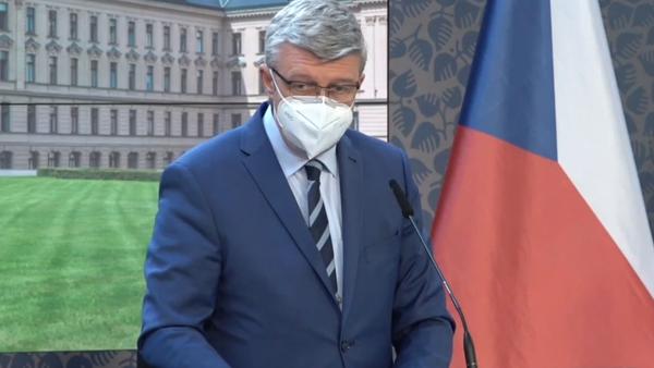 Členové vlády vystupují s rozhodnutím po jednání - Sputnik Česká republika