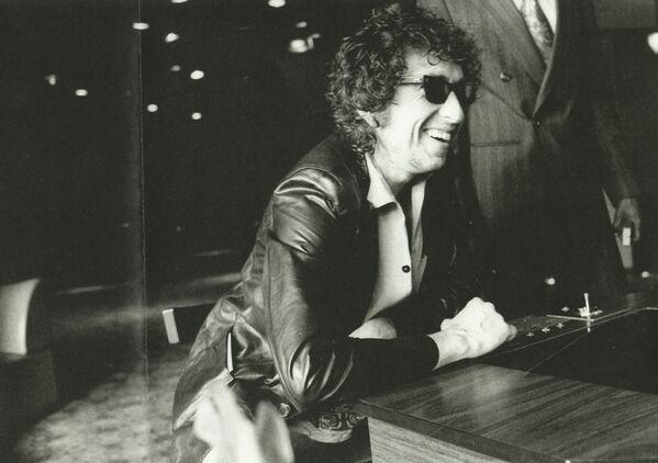 Bob Dylan během turné po Evropě, r. 1978 - Sputnik Česká republika