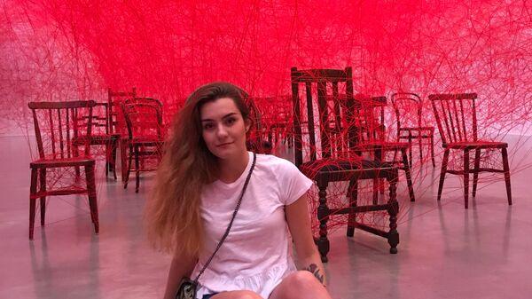 Российская студентка София Сапега в Гетеборге, Швеция - Sputnik Česká republika