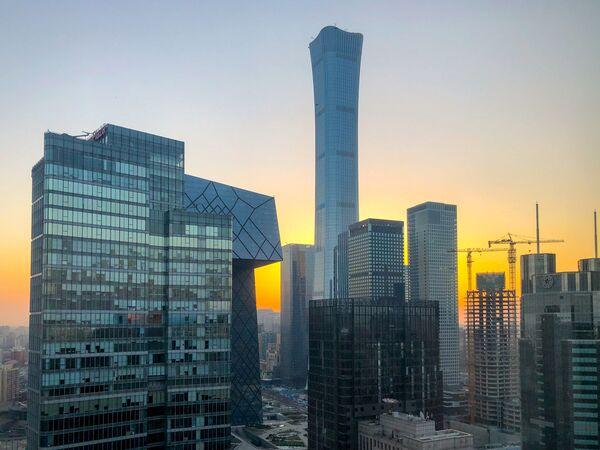 Věž CITIC v Pekingu - Sputnik Česká republika