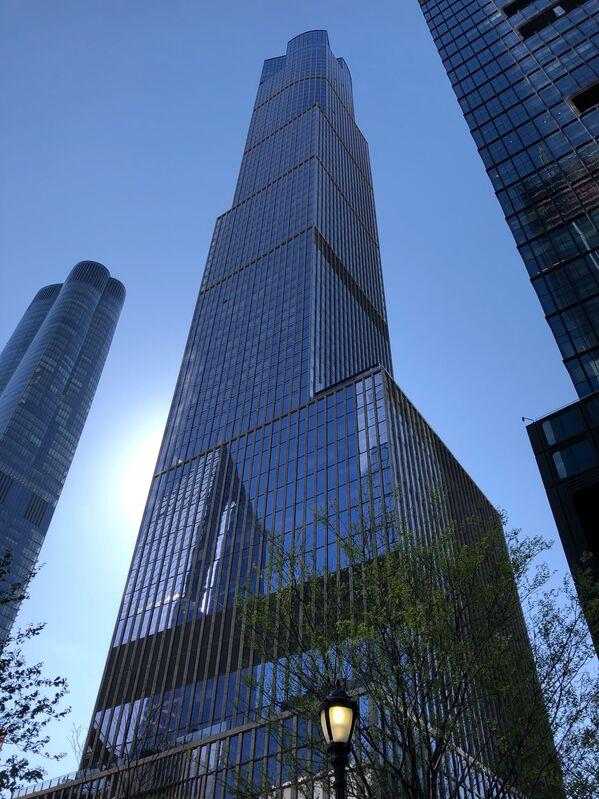 Mrakodrap 35 Hudson Yards v New Yorku, USA  - Sputnik Česká republika
