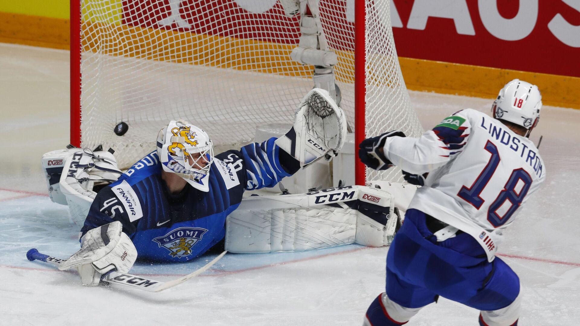 Vrchol emocí. Nejvýraznější záběry z Mistrovství světa v ledním hokeji 2021 - Sputnik Česká republika, 1920, 05.06.2021
