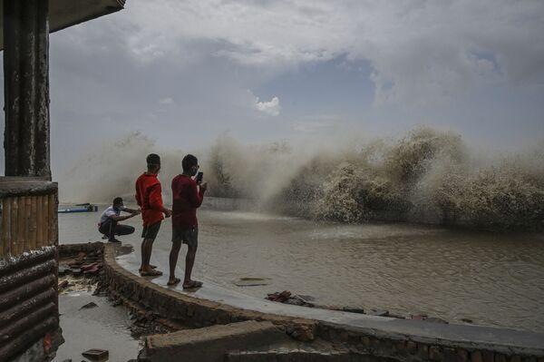 Východní pobřeží Bengálského zálivu. Digha, Indie . - Sputnik Česká republika