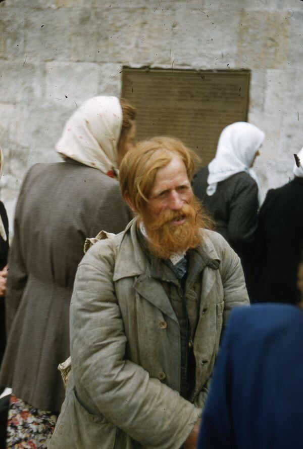 Neznámý muž. Foto z 50. let. - Sputnik Česká republika