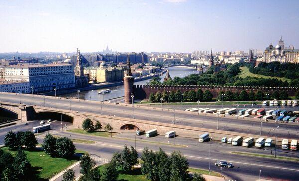 Řeka Moskva a Kremelská zeď. Rok 1972. - Sputnik Česká republika