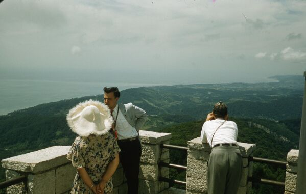 Snímek ze Soči. Rok 1958. - Sputnik Česká republika