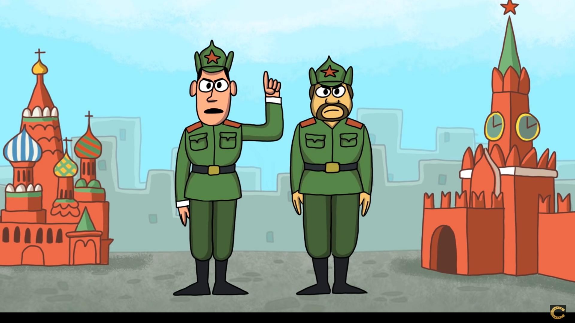 Animovaný film o dobrodružstvích Petrova a Boširova - Sputnik Česká republika, 1920, 01.06.2021