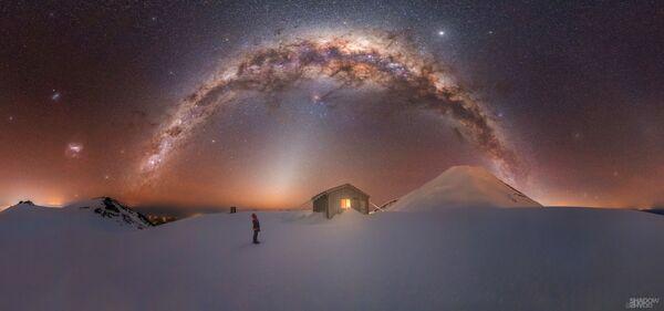 Fanthams Peak, Nový Zéland. Fotograf – Larryn Rae - Sputnik Česká republika