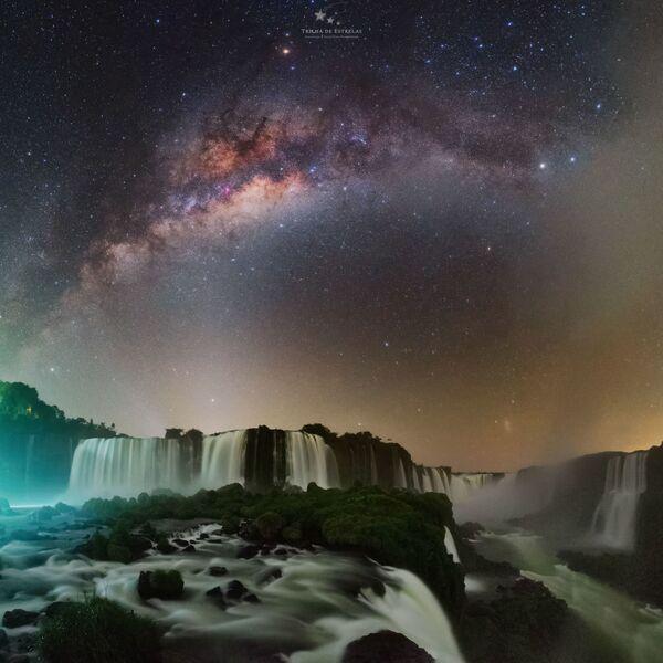 Vodopády Iguaçu, Brazílie. Fotograf – Victor Lima - Sputnik Česká republika