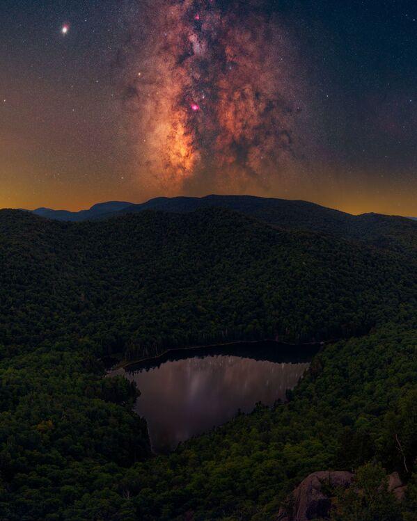Adirondacké pohoří, stát New York, USA. Fotograf – Daniel Stein - Sputnik Česká republika