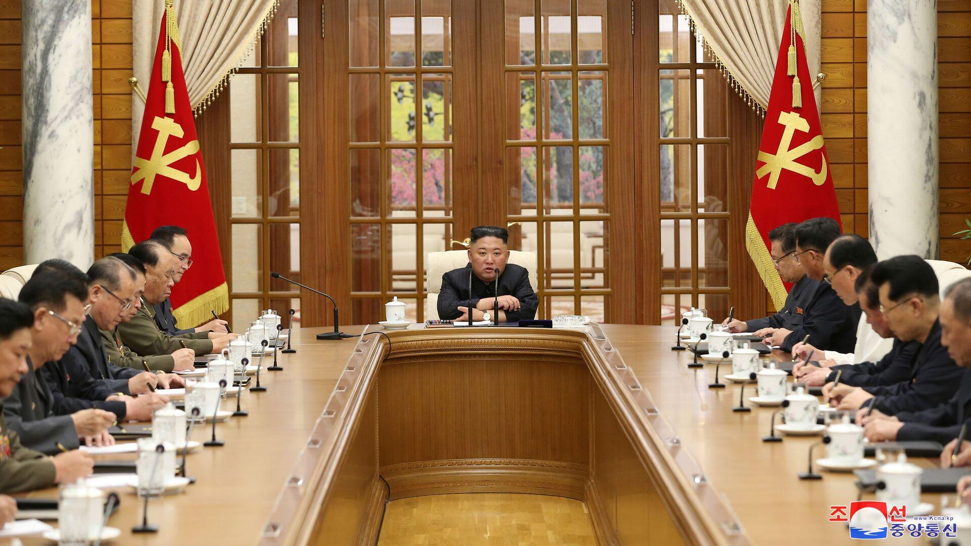 Lídr Severní Koreje Kim Čong-un - Sputnik Česká republika, 1920, 05.06.2021