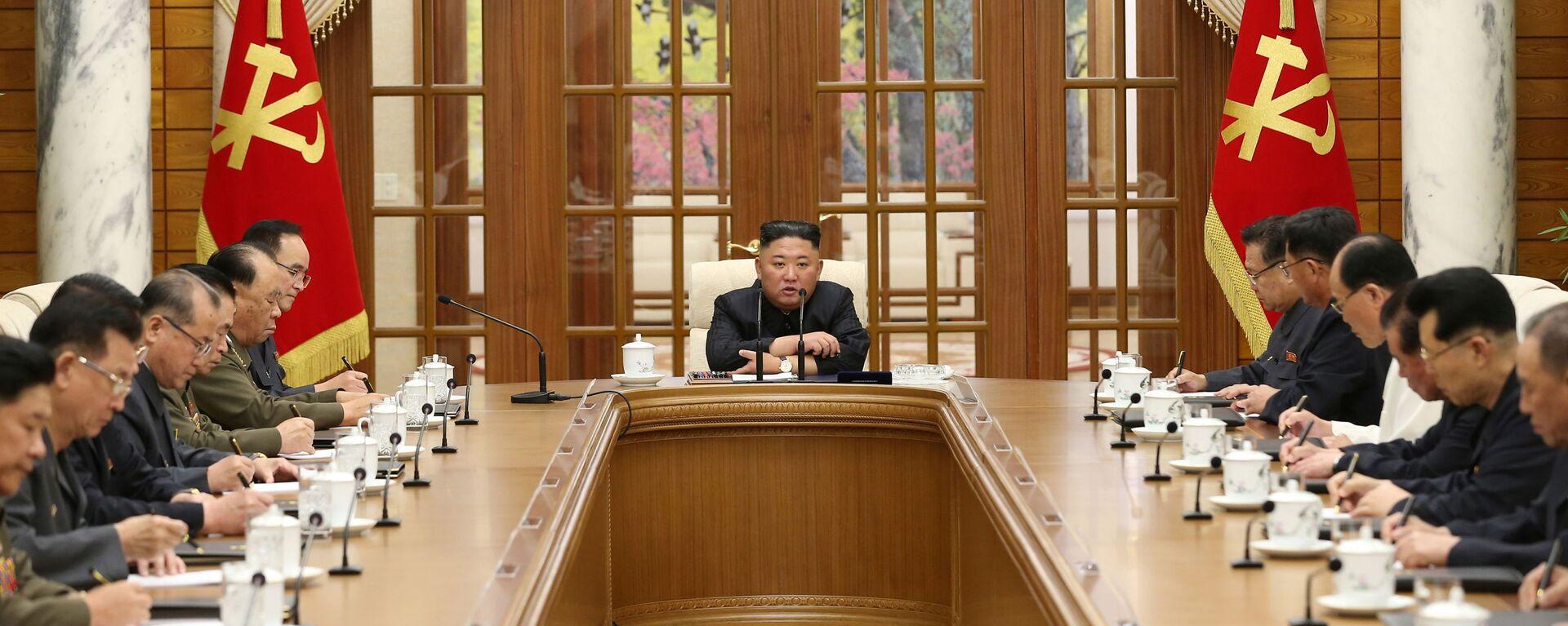Lídr Severní Koreje Kim Čong-un - Sputnik Česká republika, 1920, 18.06.2021