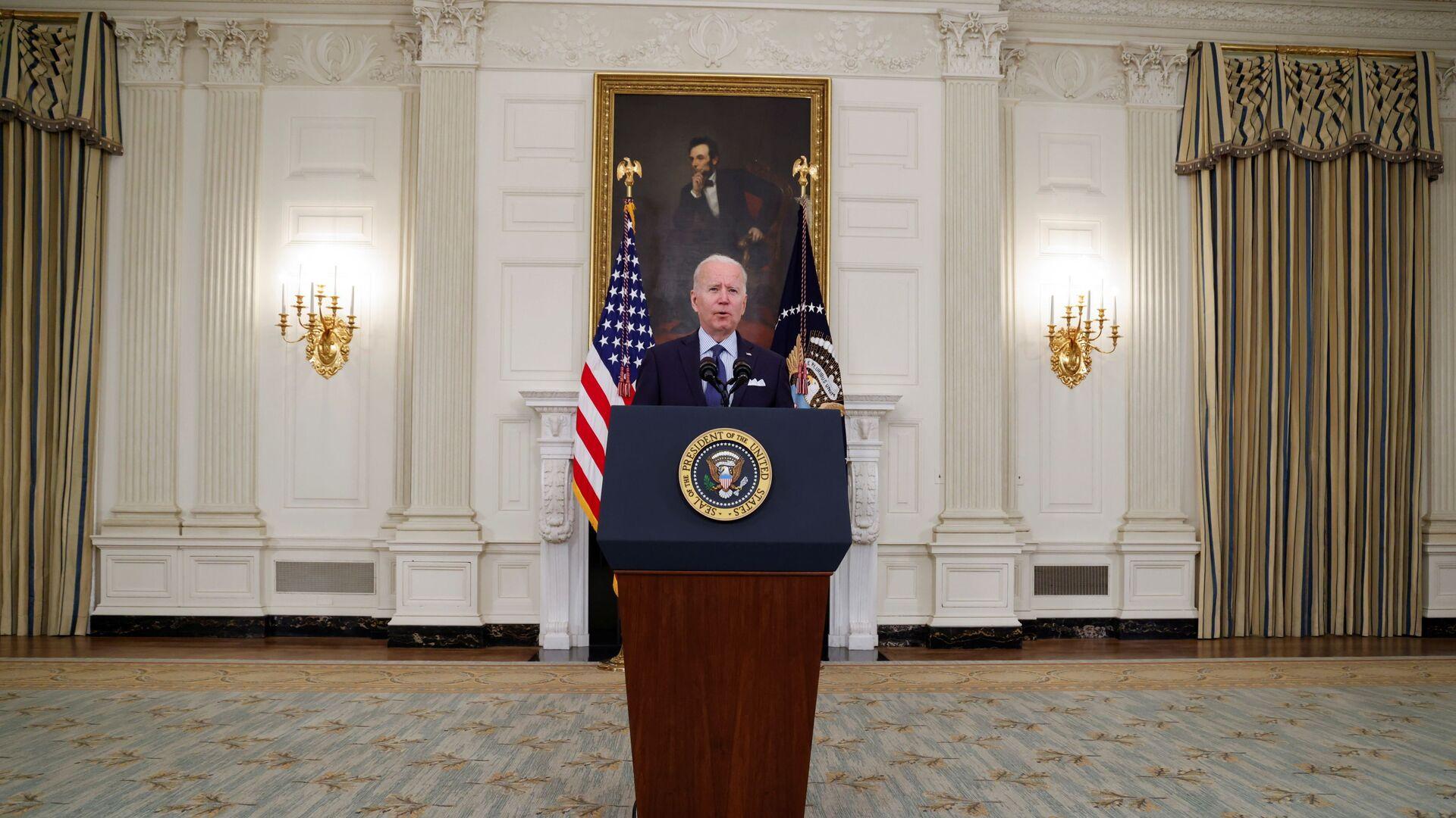 Americký prezident Joe Biden v Bílém domě - Sputnik Česká republika, 1920, 08.06.2021