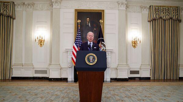 Президент США Джо Байден - Sputnik Česká republika