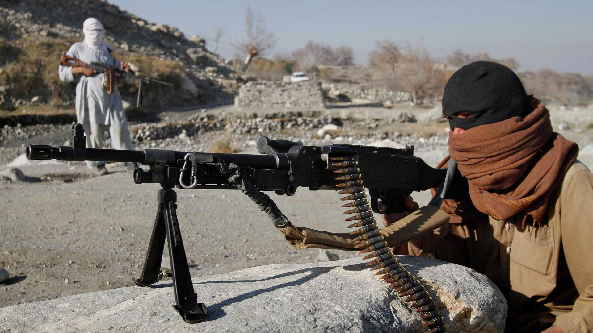 Bojovníci radikálního hnutí Tálibán v Afghánistánu - Sputnik Česká republika, 1920, 09.06.2021