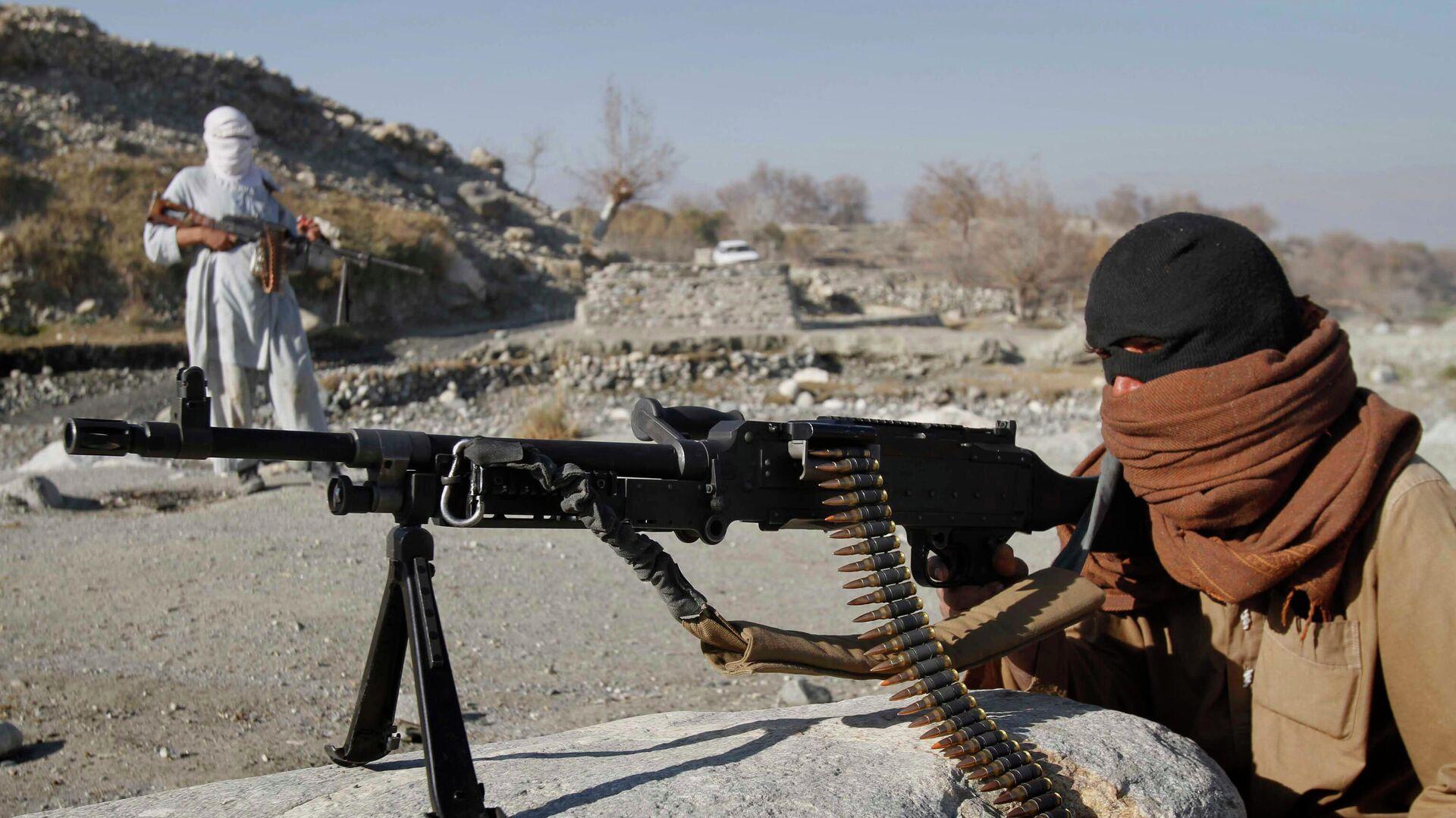 Bojovníci radikálního hnutí Tálibán v Afghánistánu - Sputnik Česká republika, 1920, 09.07.2021