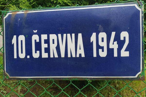 Jedna z ulice se jmenuje 10. června 1942 - Sputnik Česká republika
