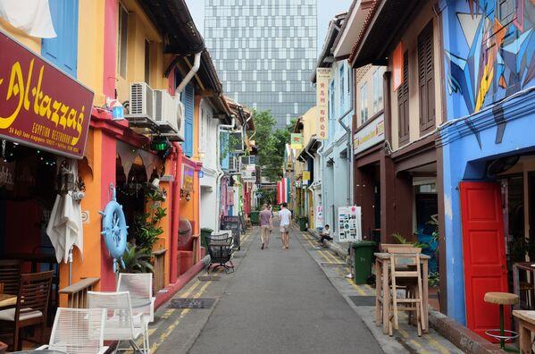 Ulice Haji Lane v Singapuru - Sputnik Česká republika