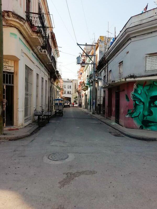 Ulice San Isidro v Havaně na Kubě - Sputnik Česká republika