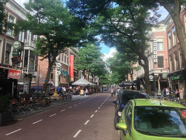 Ulice Witte de Withstraat v nizozemském Rotterdamu - Sputnik Česká republika