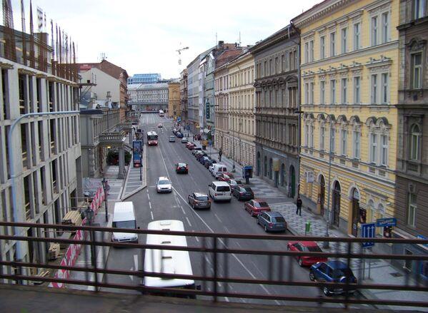 Ulice Křižíkova v Praze  - Sputnik Česká republika