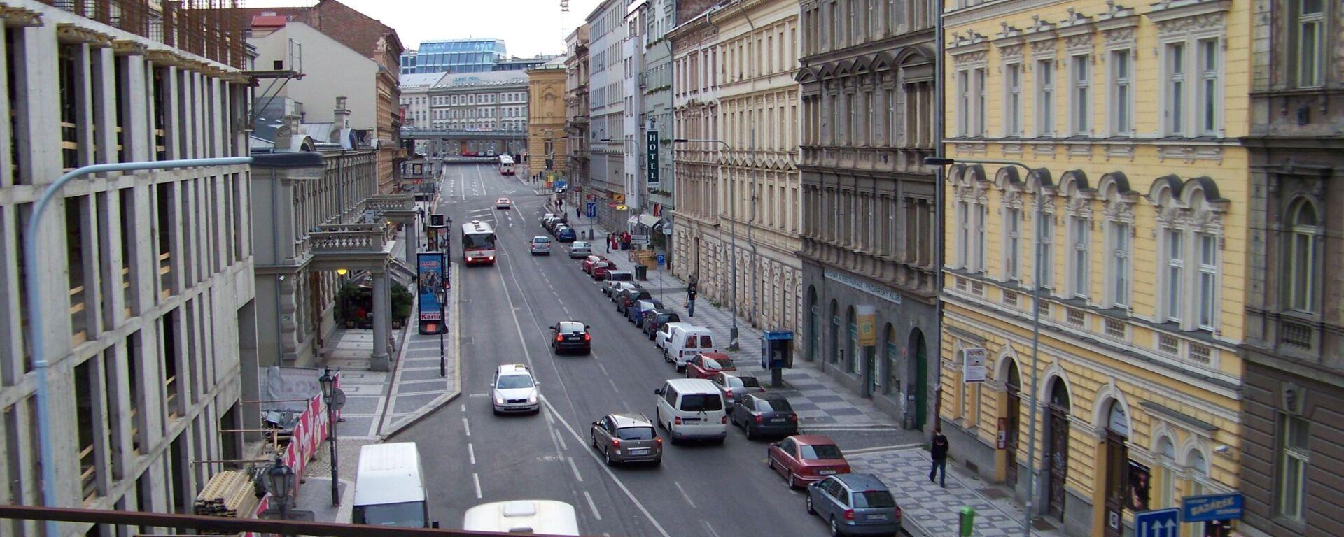 Ulice Křižíkova v Praze  - Sputnik Česká republika, 1920, 07.07.2021