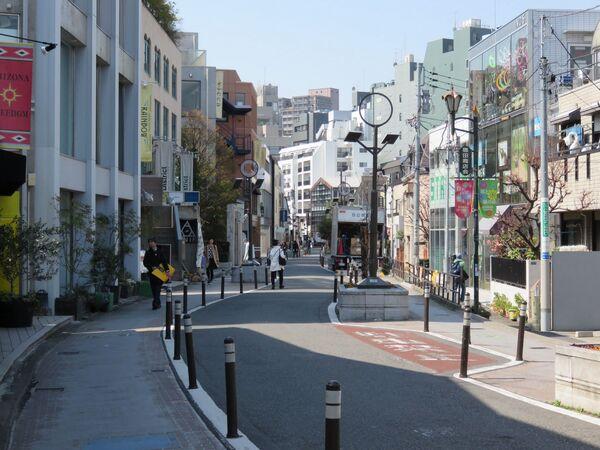 Ulice Cat Street v Japonsku - Sputnik Česká republika