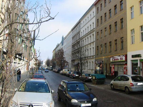 Ulice Mariannenstraße v Berlíně, Německo - Sputnik Česká republika