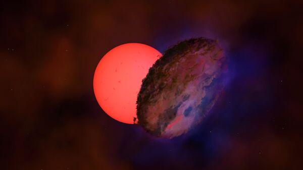 Художественное представление звездной системы VVV-WIT-08 - Sputnik Česká republika