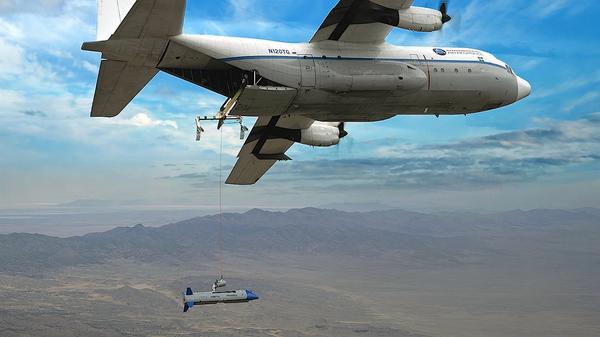 Испытание аппарата X-61A - Sputnik Česká republika
