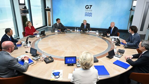 Саммит G7 в Корнуолле - Sputnik Česká republika