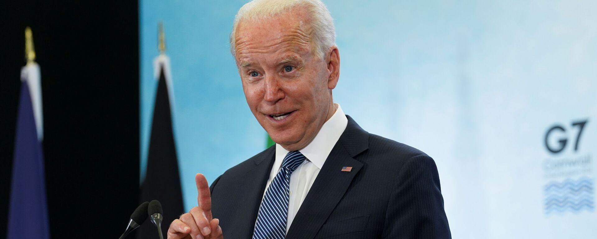 Prezident USA Joe Biden - Sputnik Česká republika, 1920, 10.08.2021