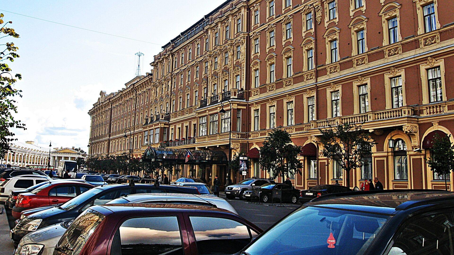 hotel Evropa v Petrohradu - Sputnik Česká republika, 1920, 14.06.2021