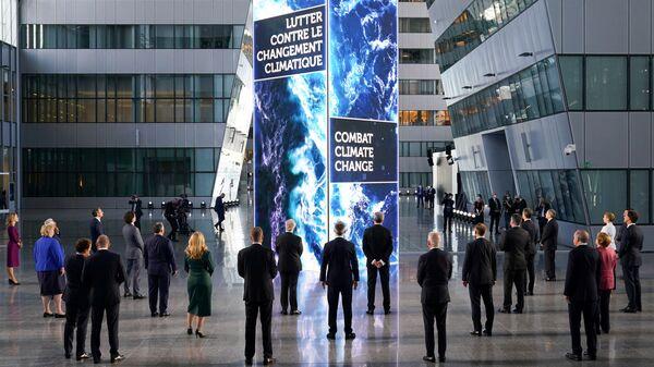 Главы государств и правительств НАТО во время саммита НАТО в Брюсселе, Бельгия - Sputnik Česká republika