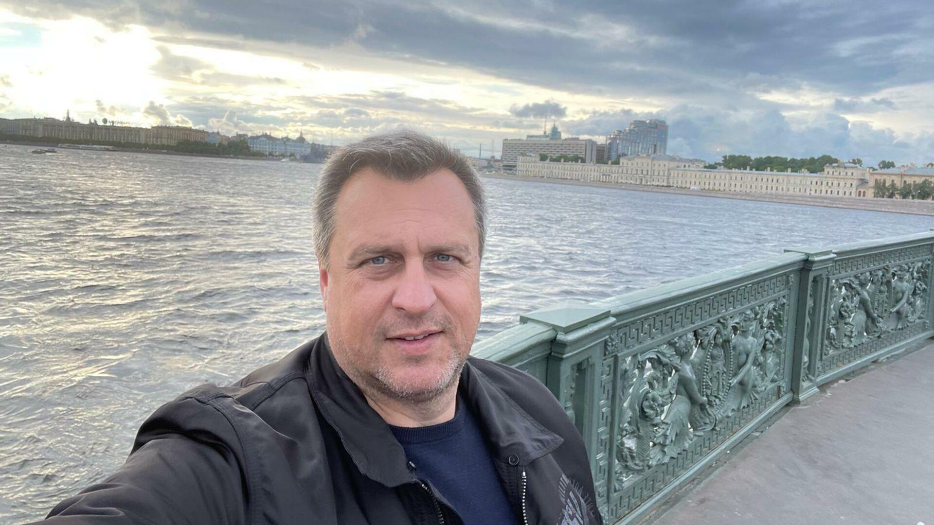 Andrej Danko během návštěvy v Petrohradě. - Sputnik Česká republika, 1920, 16.06.2021