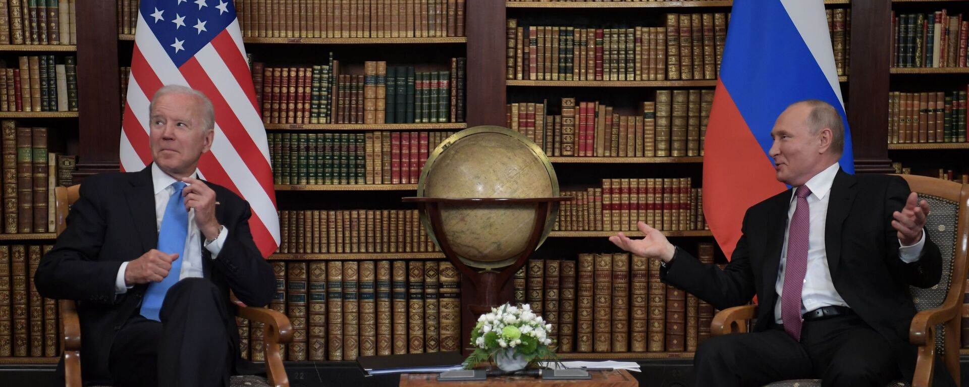 Prezidenti USA a Ruska Joe Biden a Vladimir Putin v Ženevě - Sputnik Česká republika, 1920, 16.06.2021