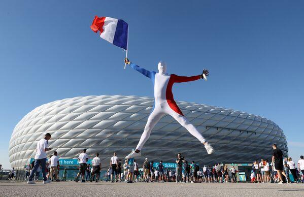 Fanoušek reprezentace Francie - Sputnik Česká republika