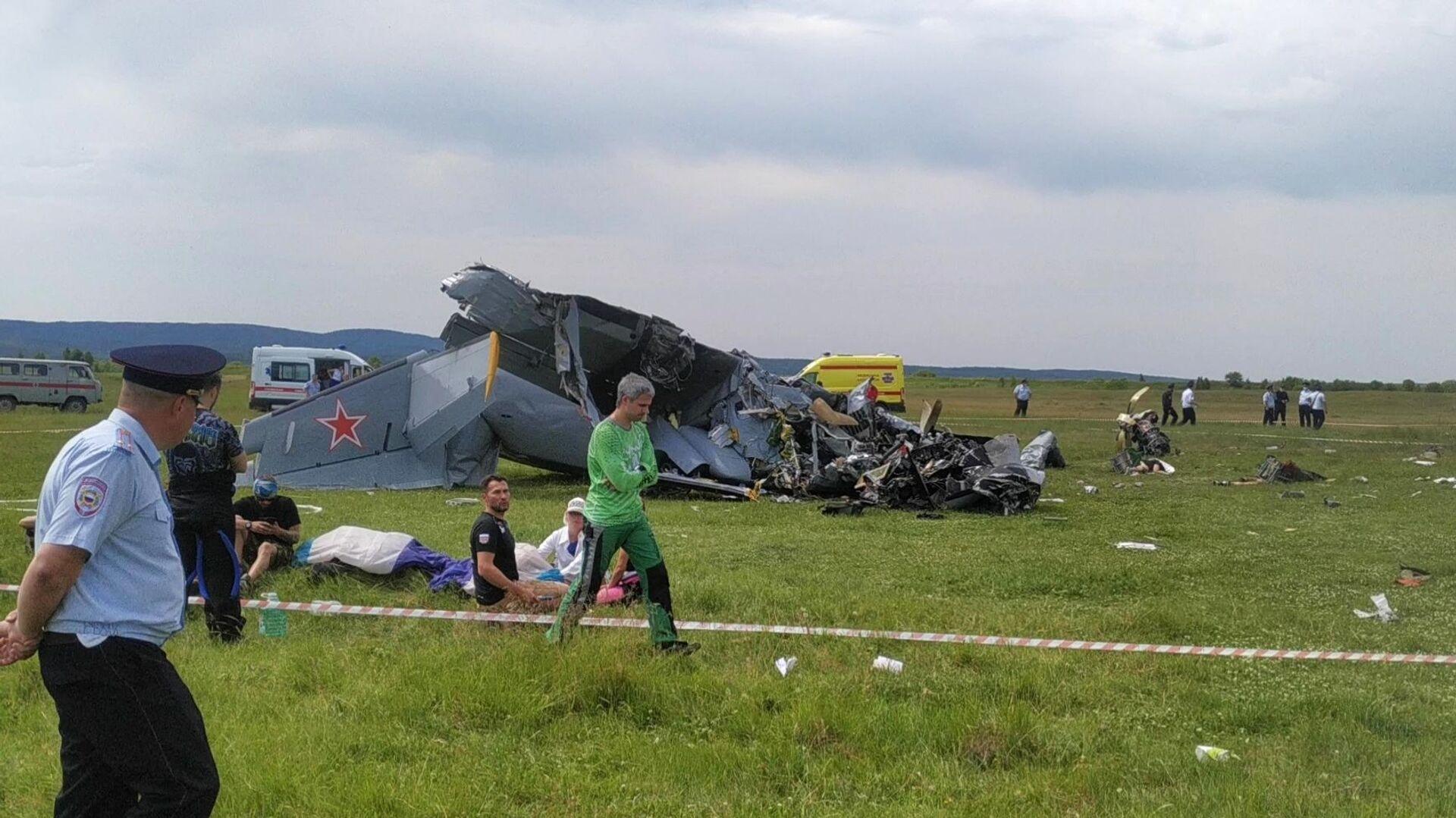 Havárie L-410 v Kuzbasu - Sputnik Česká republika, 1920, 19.06.2021