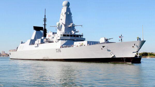 Британский эсминец Defender - Sputnik Česká republika