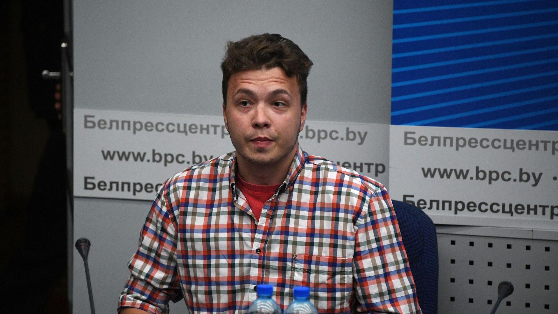Běloruský opoziční aktivista Roman Protasevič - Sputnik Česká republika, 1920, 25.06.2021
