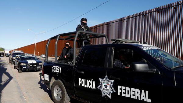Федеральная полиция Мексики в Мехико - Sputnik Česká republika