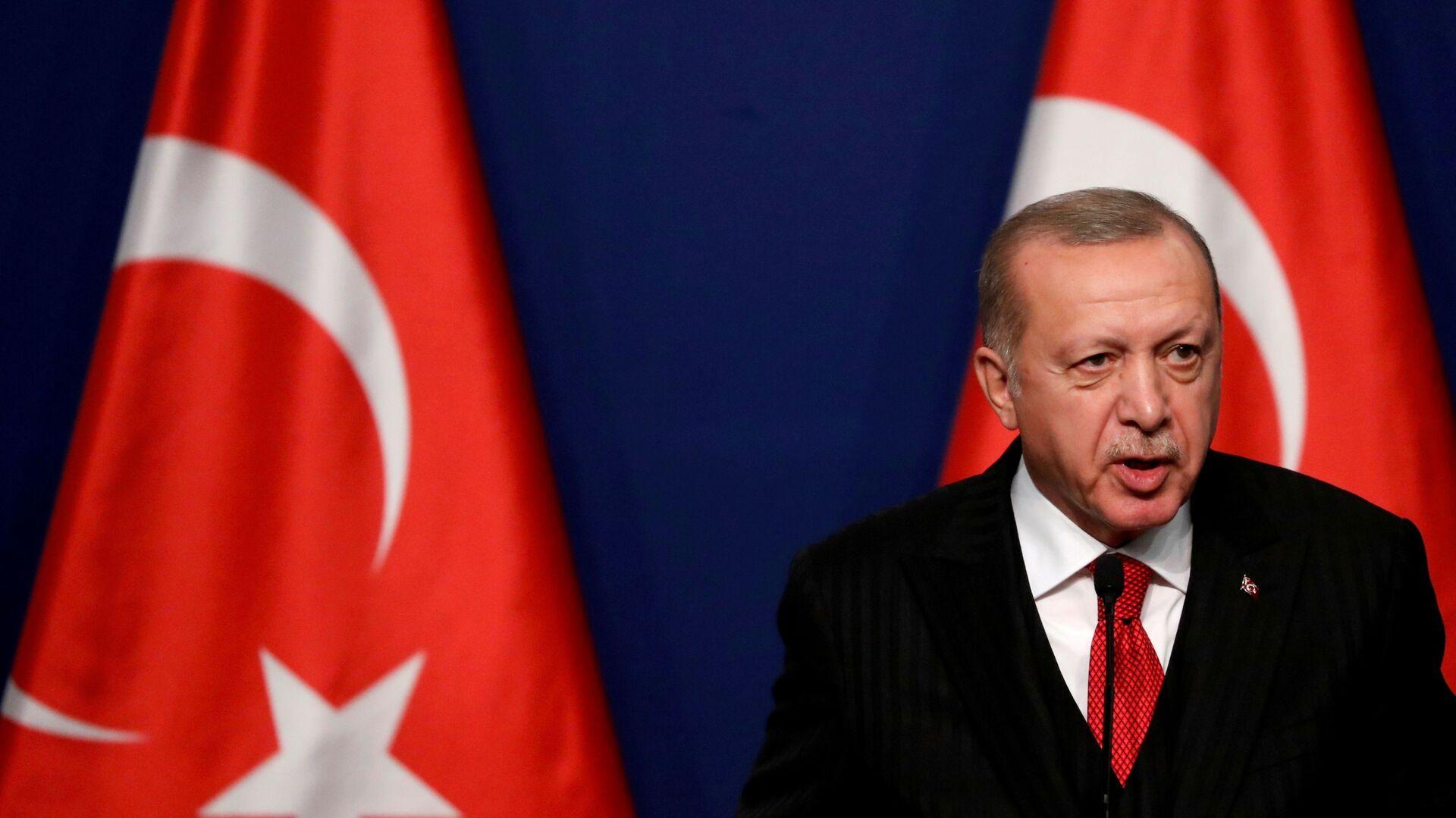 Turecký prezident Tayyip Erdogan - Sputnik Česká republika, 1920, 26.06.2021