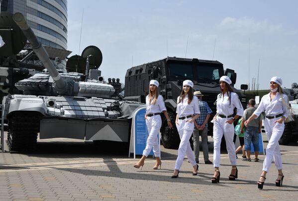 Mezinárodní výstava zbraní a vojenského vybavení MILEX-2021 v Minsku - Sputnik Česká republika