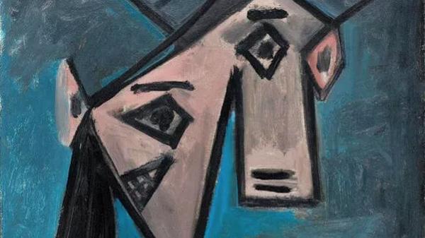 Картина Пабло Пикассо Голова женщины - Sputnik Česká republika